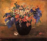 Paul Gauguin Flower Piece painting